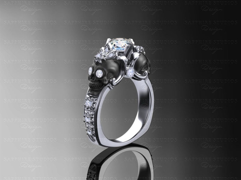 nouveau-white-gold-sugar-skull-engagement-ring