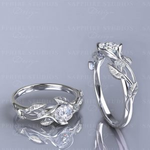 ivy-fleur-white-gold-flower-vine-engagement-ring
