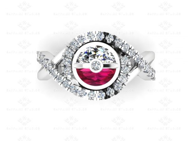 Pokeball-Diamond-Ruby-White-Gold-Ring-5