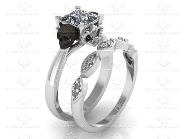amethyste-1-70ct-diamond-white-gold-black-skull-bridal-set-3