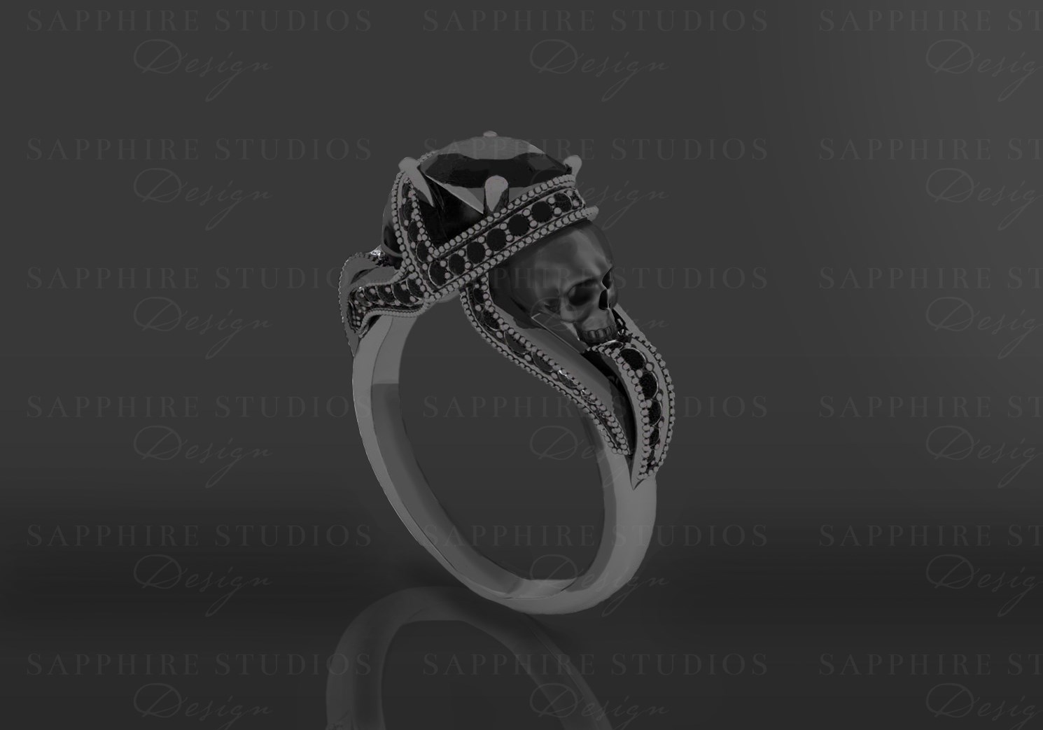 diamond best striking engagement rings ring black