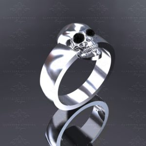 el-rey-mens-white-gold-mens-skull-ring (3)