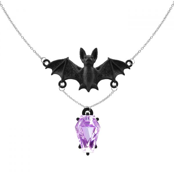 livena-skye-black-gold-pink-amethyst-coffin-cut-bat-pendant-necklace