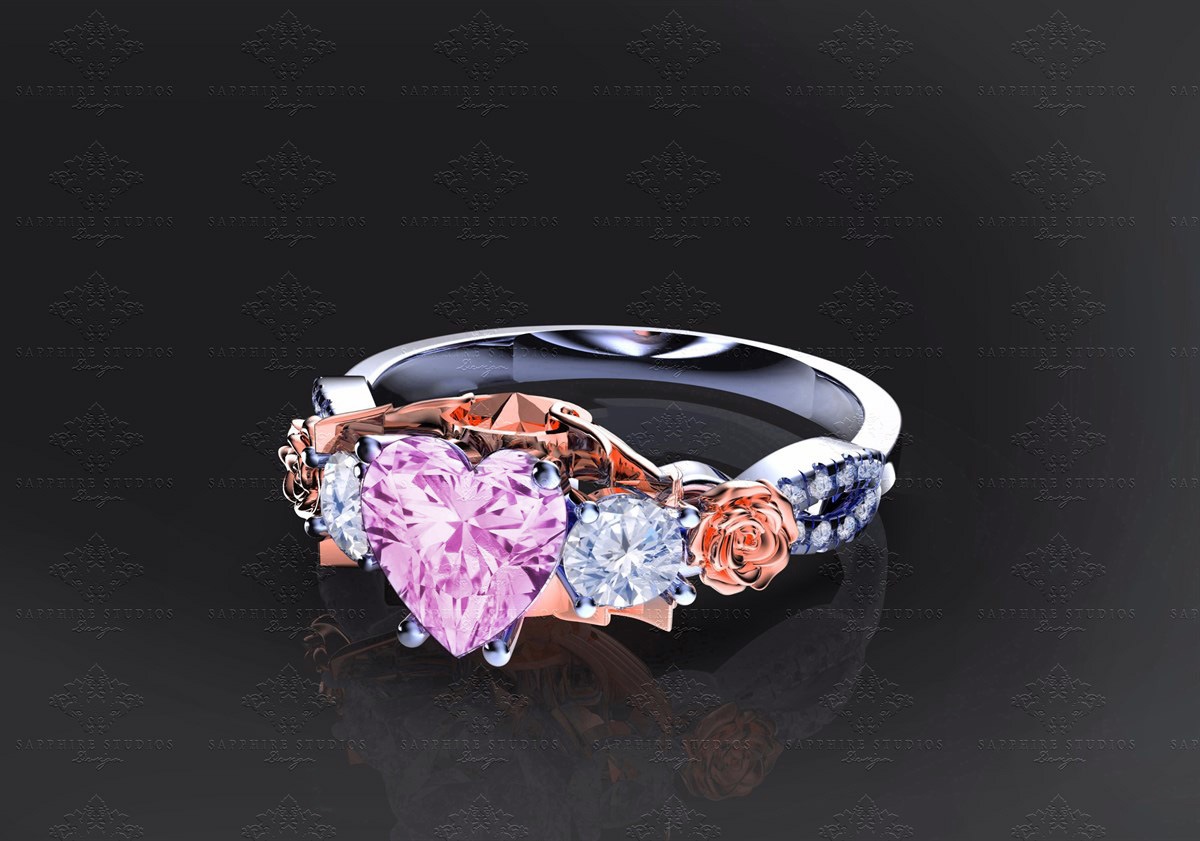 centres sapphire product charm large ring white gold diamond sapphirediamond