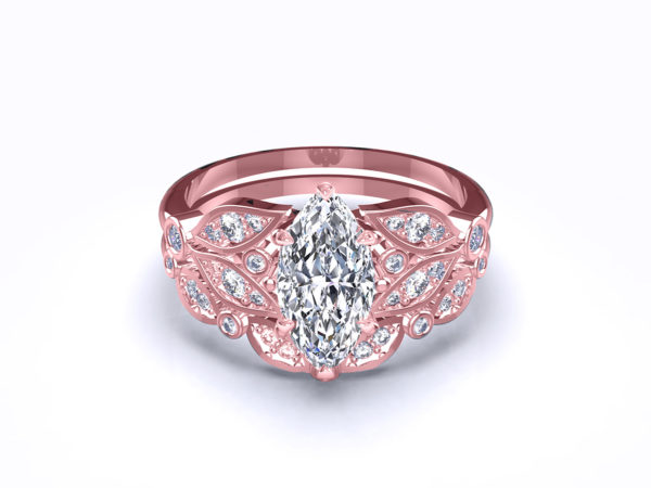 serenity-marquise-rose-gold-bridal-set