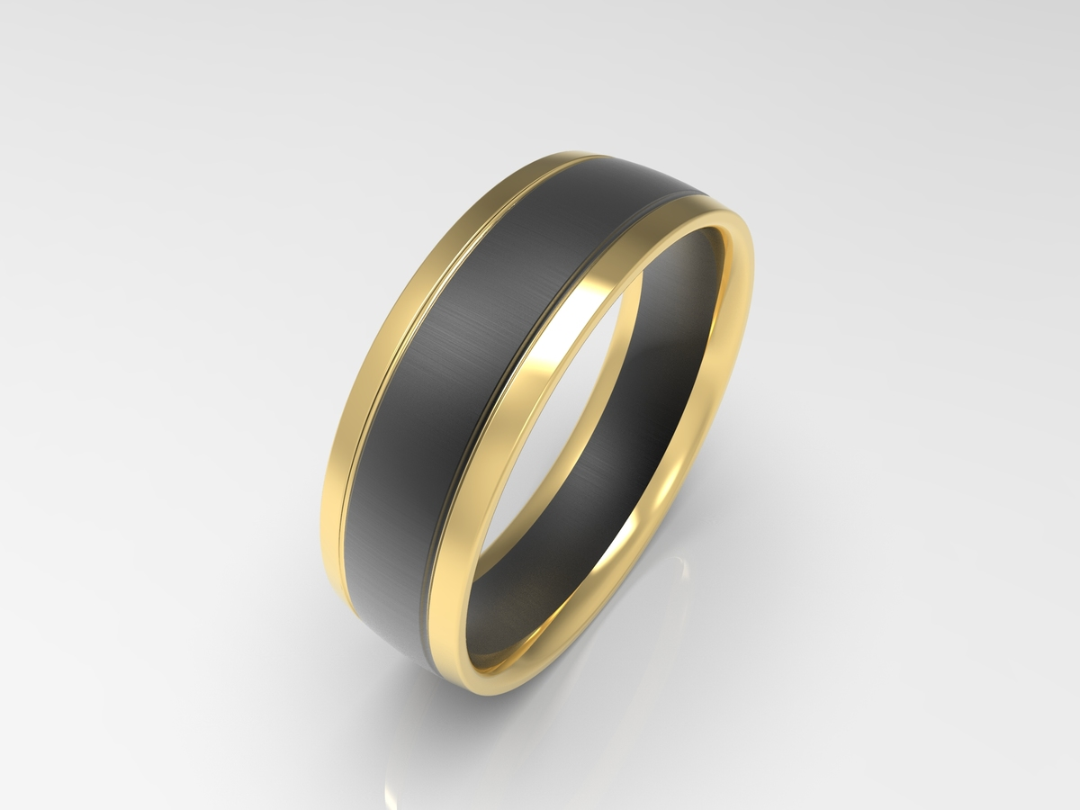 band ladies diamond eternity gold by rhodium ring wedding black belloria bands