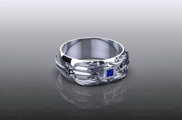 blade-blue-sapphire-white-gold-kingdom-hearts-mens-band