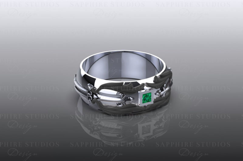 blade-emerald-white-gold-kingdom-hearts-mens-band
