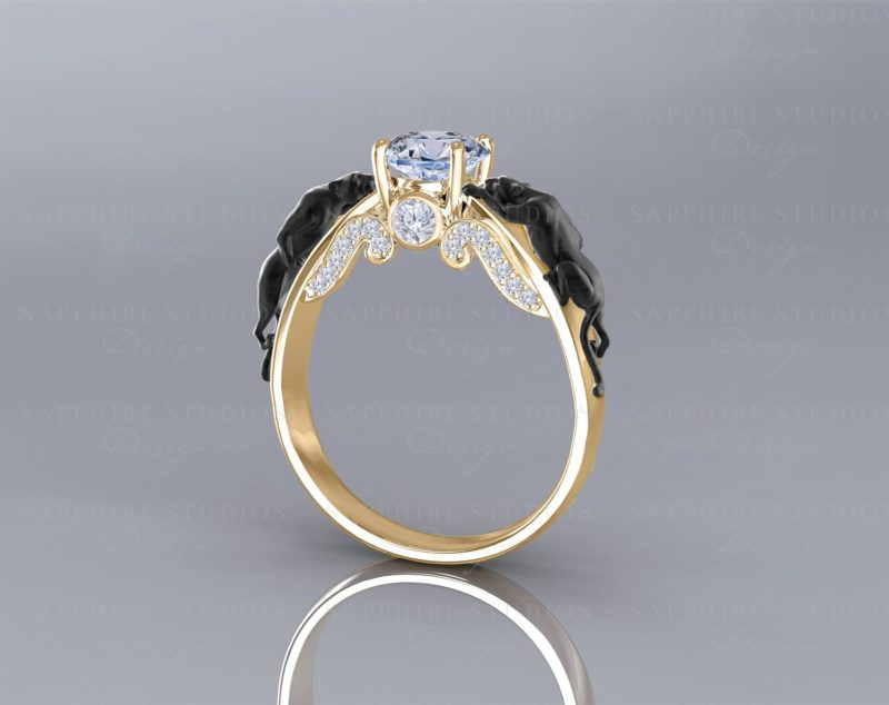 panthere-natural-white-sapphire-yellow-black-gold-panther-ring