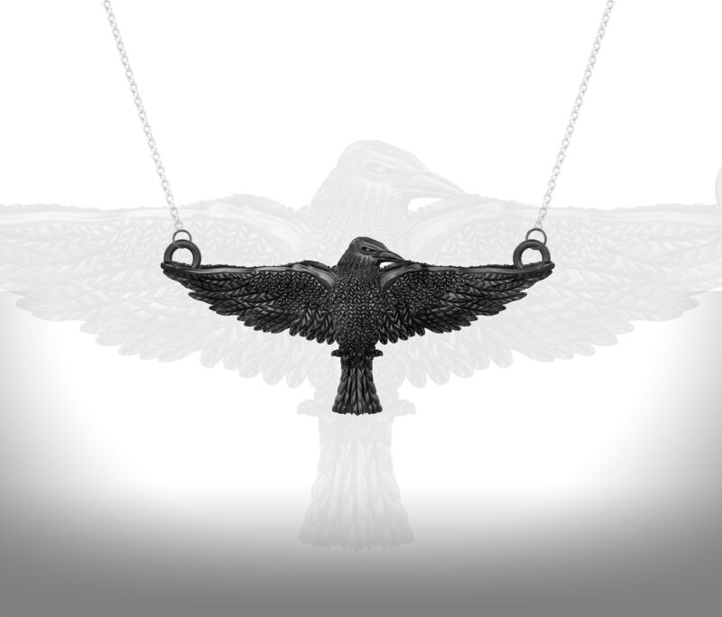 within-a-dream-black-crow-raven-necklace